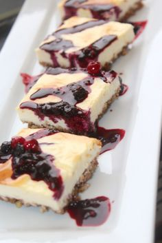 Berry Pecan Cheesecake Bars. Low Carb and awesome.  www.Facebook.com/FoodIMakeMySoldier