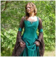 Bell Sleeved Fantasy Dress