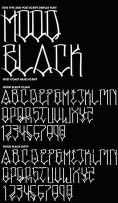 One of the first Fonts that I have seen that actually resembles writing  that I grew up seeing in the neighborhoods.