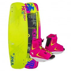 Ronix 2015 Quarter 'Til Midnight w/ Luxe Boot Women's Wakeboard & Binding Package $499.99 - $579.98