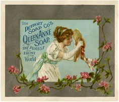 Old Soap Advertising Image