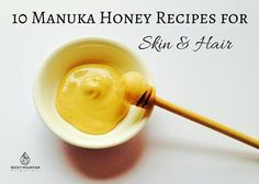 Manuka Honey Recipes for Hair & Skinyou will never want to put soap to your face again. Nor wash your hair with harmful chemicals ever again. #honeylove
