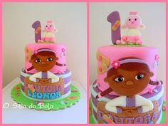 O sitio do bolo: Bolo da Drª Brinquedos para a Leonor / Doc McStuffins cake