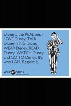 This me... no doubt. I love my Disney <3