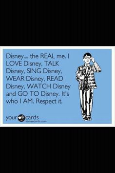 This me... no doubt. Disney lives way down deep in the depths of my soul! I love it. Not just Disneyland which I love more than anyplace else but all things Disney. Disney history is the best!