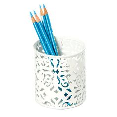 The Container Store > Brocade Pencil Cup