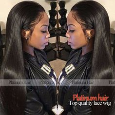Fashion Wigs Synthetic Lace Front Wig Black Color Glueless Natural Straight Wig heat resistant lace hair for black women