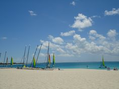 The beach and ocean in front of the Turks and Caicos Club Med are the most beautiful in the world!