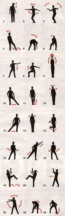 Thriller Dance Moves
