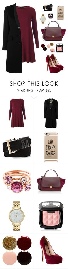 """""""Untitled #249"""" by krishma243 on Polyvore featuring Burberry, Vince Camuto, Casetify, Ted Baker, CÉLINE, Kate Spade, NYX, Nails Inc., Chanel and Miu Miu"""