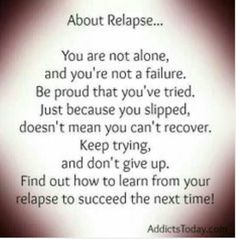 75 Recovery Quotes & Addiction quotes to Inspire Your Addiction Recovery Journey. The path to recovery is never easy. Relapse Quotes, Sobriety Quotes, Addiction Recovery Quotes, Relapse Prevention, Nicotine Addiction, Celebrate Recovery, Sober Life, Keep Trying, Health