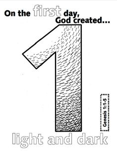 days of creation coloring book - Creation Day 3 Coloring Page