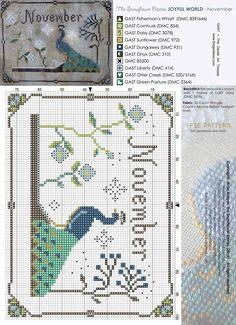 The Snowflower diaries free pattern November