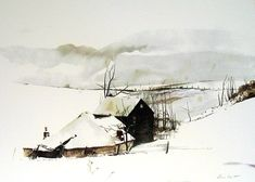 andrew wyeth - the corner                                                                                                                                                     More