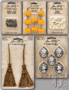 there's just something wickedly nostalgic about vintage halloween imagery that sparks my cryptic curiosities. this year's halloween release from idea-ology combines an eclectic assortment of uniqu...