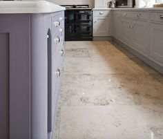 Jura Blue Grey Honed Limestone - Limestone