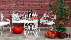 Кованые скамейки. Полезные идеи для вашего дома. Отделка коттеджа.