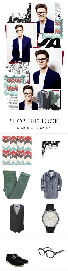 """""""MAX MALARKEY [treats]"""" by casie ❤ liked on Polyvore featuring Laurence Doligé, Old Navy, William Hunt, FOSSIL, Shofolk, men's fashion and menswear"""