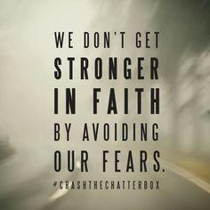 Stronger in faith....