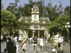 Vintage Disneyland 1968 with old rides that are now gone
