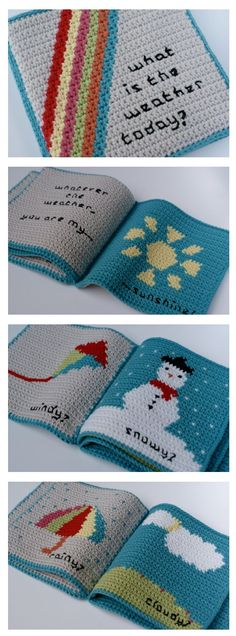 Brilliant baby book! Get the pattern ... great gift idea.