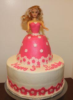 Barbie Cake - Barbie cake
