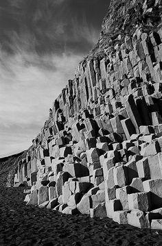 Basalt Columns. Iceland.