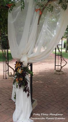 recogidos flor caídas altar