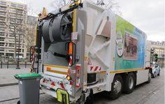 bennes à ordures ménagères électriques