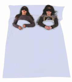 Outgeek Double Sleeping Bag Liner Lightweight 2 Person Sleep Sack Convenient for Camping Travel Hotel. Material: Premium quality combed cotton. Dimensions: (210+20)cm*180cm (82.6+7.8)in*70.8in. Fit for two people, couples and so on. Tips: Please be sure to check the bag size (measured by different ways, small error is allowed). Item Display: These worked great on a recent trip, it's almost like a rectangle bag shape with a place to fit the pillows.Besides,keep this product away from naked...