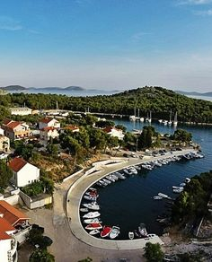 Tribunj, Croatia - lovely marina is worth a visits. The town feels very genuine, and is surrounded by natural beauty!