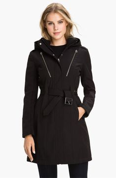 Miss Sixty Softshell Trench Coat available at #Nordstrom