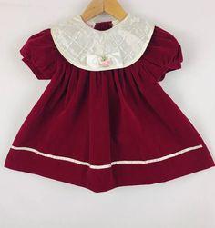 156a6e534c94 Details about baby girls Little Bitty size 12 months dress