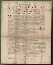 Declaration of Independence - Dunlap Broadside - R. R. Donnelley. #rrdonnelley #printer