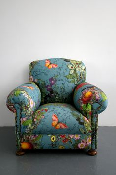 Oh, I would love to sink into this!! Furniture - Timorous Beasties