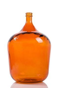Glass Bottle Vase - Spanish Orange Home Decor from Earth Homewares Bottle Vase, Glass Bottles, Orange Home Decor, Orange House, Secondary Color, Cottage Homes, Accent Colors, Hot Sauce Bottles, Color Splash