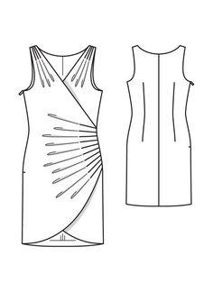 Маленькое платье. 02/2013Burdastyle.. Обсуждение на LiveInternet - Российский…