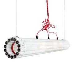 Recycled Tube Light - Pendant Light