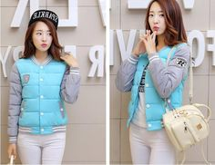 27.81$  Watch here - https://alitems.com/g/1e8d114494b01f4c715516525dc3e8/?i=5&ulp=https%3A%2F%2Fwww.aliexpress.com%2Fitem%2F2016-Winter-Women-down-coat-female-short-paragraph-cotton-candy-colored-baseball-uniform-coat-female-new%2F32708048085.html - 2016 Winter Women down coat female short paragraph cotton candy-colored uniform coat female new winter fashion 27.81$