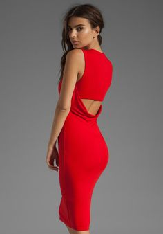 Downforce Dress in Red - Lyst