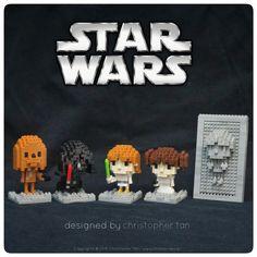 My nanoblock Star Wars - Cute Series