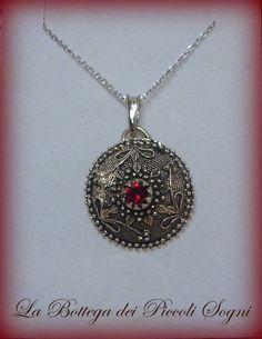 """Collana """"Bottone Sardo""""   Jewelry  Sardinia"""