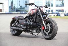 "Honda Valkyrie ""SIXPACK"" by H-D Performance Custom Bobber, Custom Bikes, Honda Cruiser, Honda Valkyrie, Motorcycle Humor, Bobber Chopper, Honda Motorcycles, Super Bikes, Kustom"