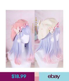 Hair Pin Lolita Hair Accessories Moe Sweet Japan Kawaii Bow Cute Beret Kawaii – Clothes, Make Up and more - Trend Pelo Lolita, Lolita Hair, Estilo Lolita, Lolita Makeup, Kawaii Hairstyles, Pretty Hairstyles, Wig Hairstyles, Straight Hairstyles, Fashion Hairstyles