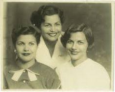 Patria, Minerva, y María Teresa Mirabal. Que descansen en paz.