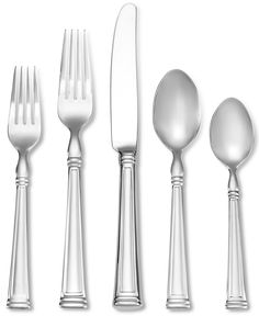 Lenox Esquire 65 Pc Set, Service for 12 - Flatware & Silverware - Dining & Entertaining - Macy's
