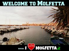 Molfetta: port, sea, boat, welcome  visit www.ilovemolfetta.it