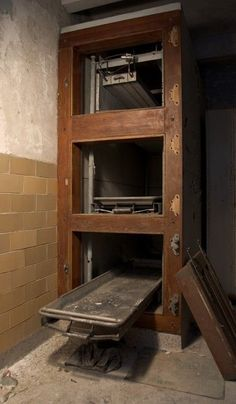 Pennhurst State School and Hospital morgue
