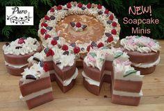 PURO SOAPS: NEW Soapcake Minis