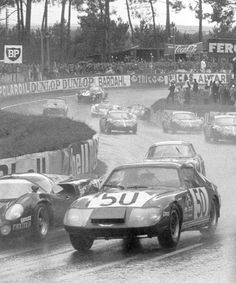 Austin Healey LM Sprite at the 1968 Le Mans 24H. Did you already consider your entry for our Spa 3 Hour race 23, 24 & 25 June 2016? Find your details @ http://legendary-circuits.eu/spa-3-hours/ << click here.